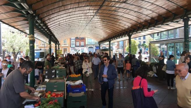 Imagen de archivo del Ecomercado de la Plaza España.