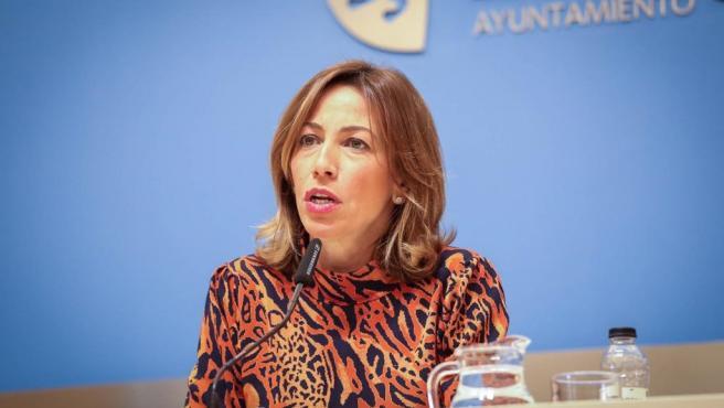 La consejera de Servicios Públicos y Movilidad del Ayuntamiento de Zaragoza, Natalia Chueca