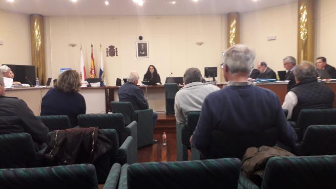 Muguruza declara en el juicio del caso Proconor