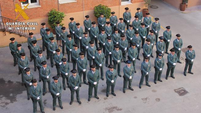 Nuevos guardias civiles de Albacete.