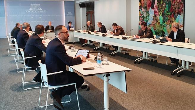 Reunión del comité asesor por el Covid-19