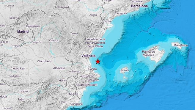 Terremoto en Valencia.
