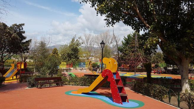 Un parque infantil del municipio.