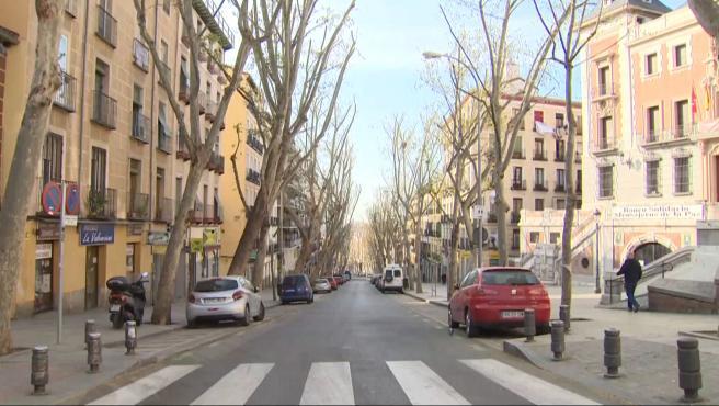 Domingo diferente en Madrid sin El Rastro