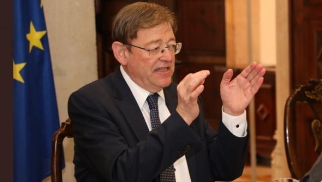 El president de la Generalitat, Ximo Puig