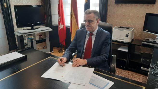 Foto recurso del delegado del Gobierno en Madrid, José Manuel Franco.