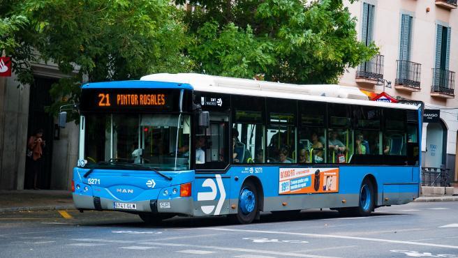 Imagen de recurso de un autobús de la EMT de Madrid.