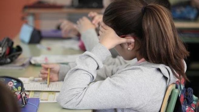 Alumna en un centro
