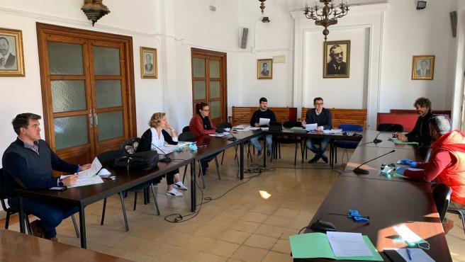 Reunión mantenida en el Ayuntamiento de Barbate