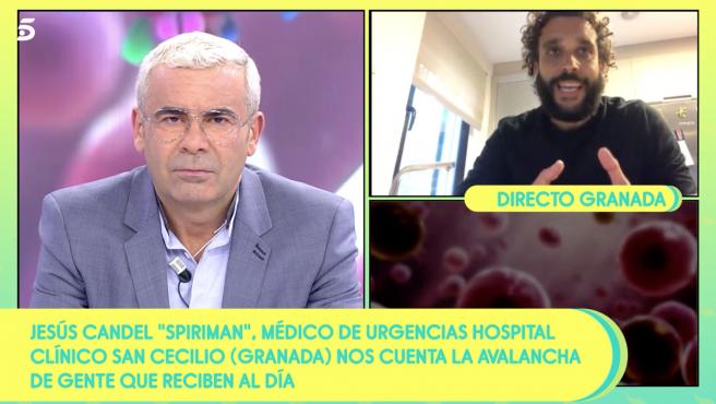 'Sálvame' habla con el médico Jesús Candel sobre el coronavirus.