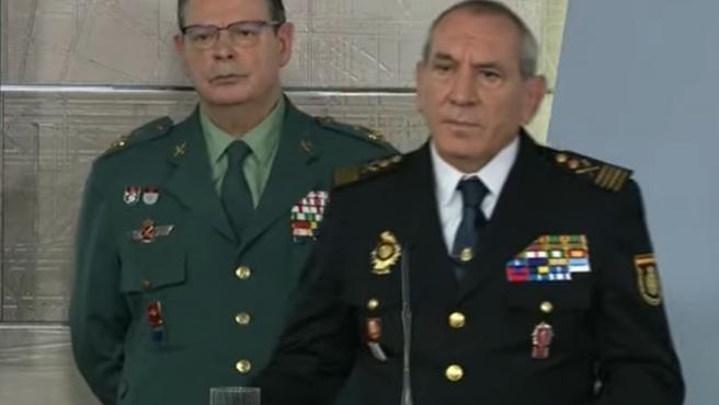 Laurentino Ceña y José Ángel González