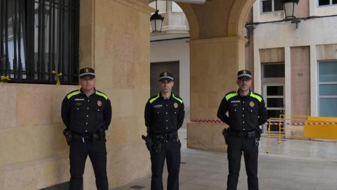 Nuevos agentes de la Policía Local de Mollerussa
