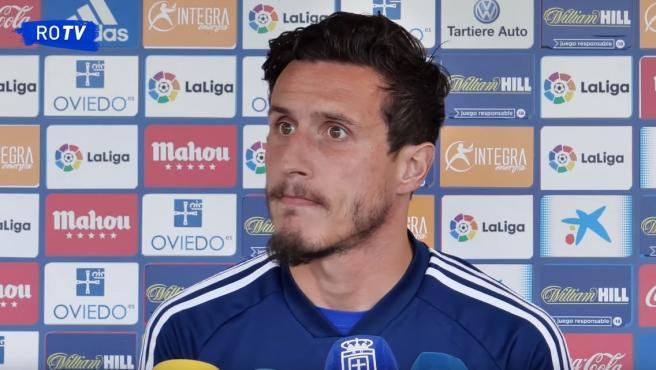 Christian Fernández, jugador del Oviedo