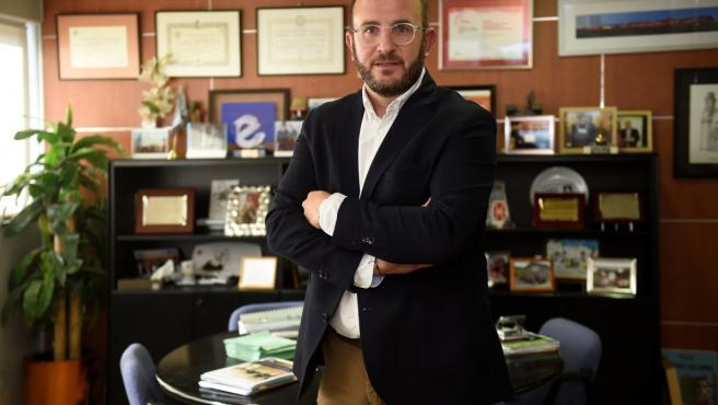 El Presidente De La Asociación Empresa Familiar De Lleida, Marc Cerón.