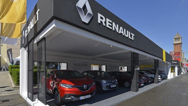 Imagen de un concesionario de Renault.