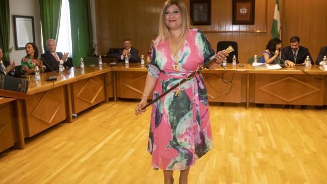 La alcaldesa de Armilla, Loli Cañavate