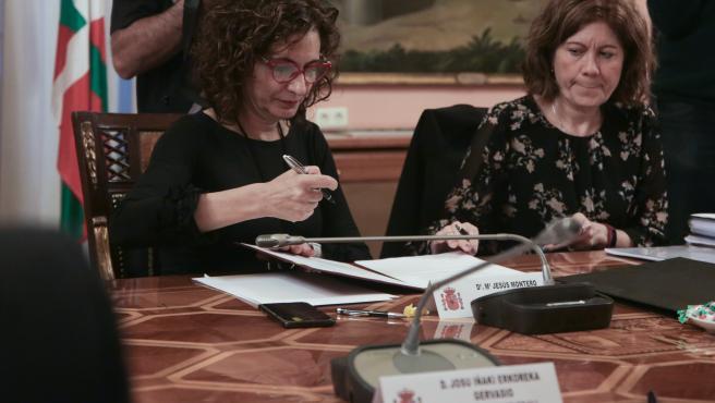 La ministra de Hacienda y portavoz del Gobierno, María Jesús Montero, en una imagen de archivo.