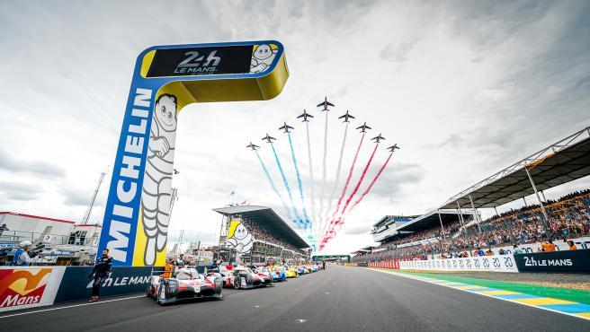 Imagen de las 24 horas de Le Mans.