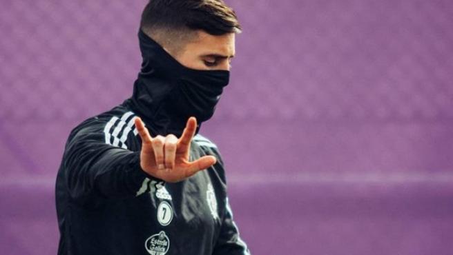 Sergi Guardiola, jugador del Real Valladolid.