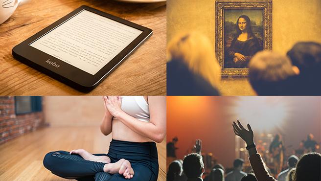 Leer, hacer una visita virtual a un museo, practicar deporte o ver un concierto por redes son algunas de las actividades que se pueden hacer durante la cuarentena.