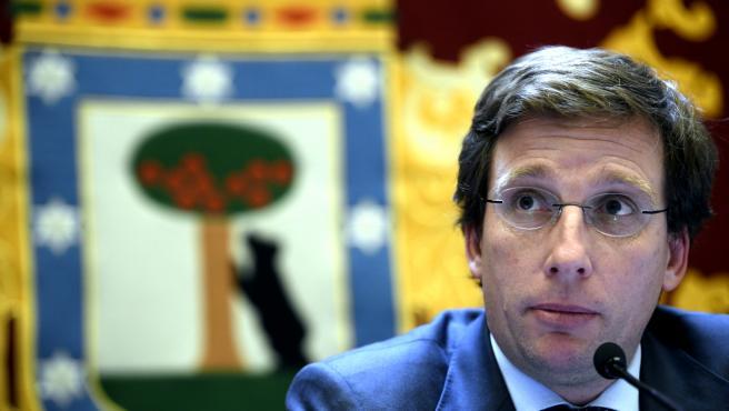 El alcalde de Madrid, José Luis Martínez-Almeida. Archivo.