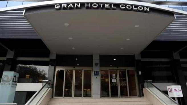 El Hotel Ayre Gran Hotel Colón de Madrid será el primero medicalizado para el coronavirus.
