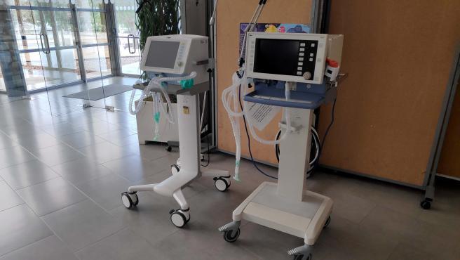 Respiradores cedidos por la UAL al Hospital Torrecárdenas
