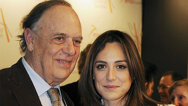 Carlos Falcó y su hija Tamara Falcó.