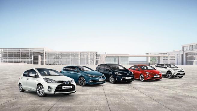 Toyota España ofrece a las autoridades sanitarias de Madrid su flota de vehículos.