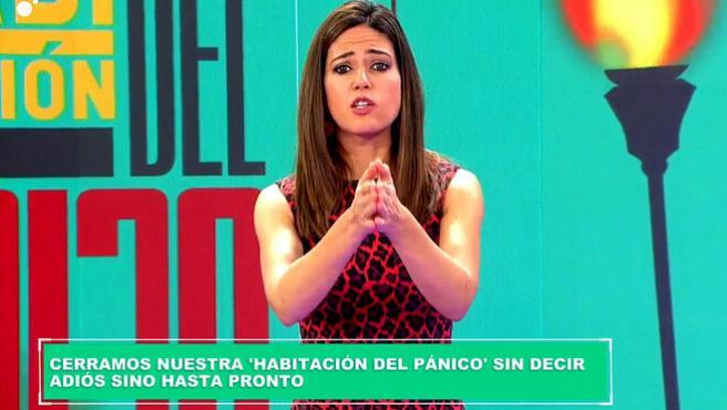Nuria Marín tras anunciar el adiós temporal del programa.