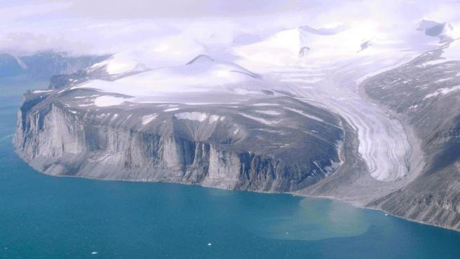 Paisaje de la isla de Baffin.