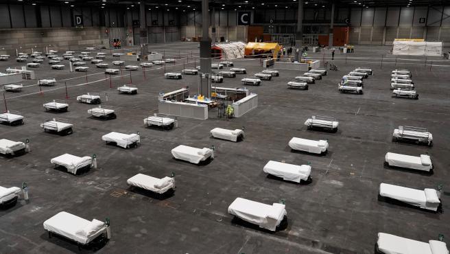A su máxima capacidad, el recinto ferial puede acoger hasta 5.000 camas