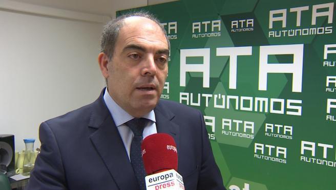 Presidente de ATA, Lorenzo Amor.