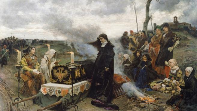 Doña Juana la Loca, de Francisco Pradilla y Ortiz.
