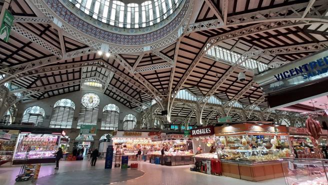 Imagen del Mercado Central de València.
