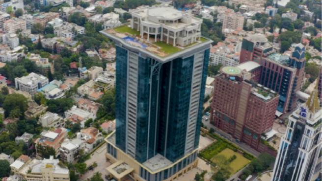 La torre Kingfisher, en Bangalore (India).