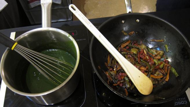 Alimentos, cocinar, cocina, alimentación