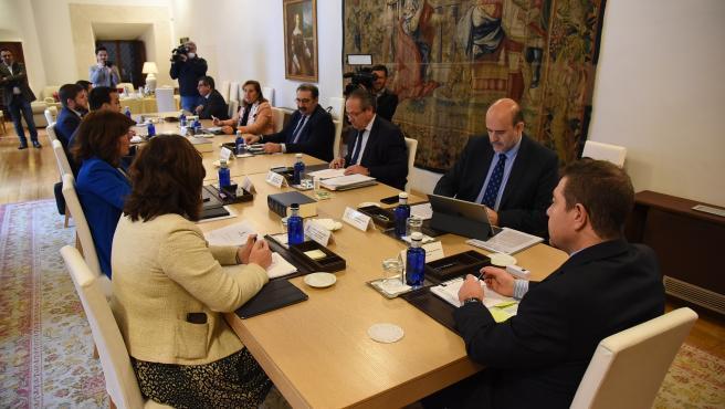 Consejo de Gobierno de C-LM, reunido el 24 de marzo