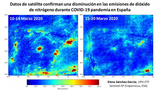 Estudio de contaminación del aire de la UPV.