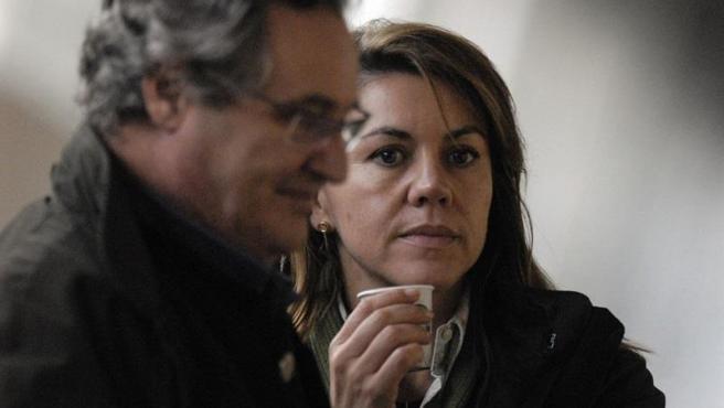 María Dolores De Cospedal Y Su Marido, Ignacio López Del Hierro