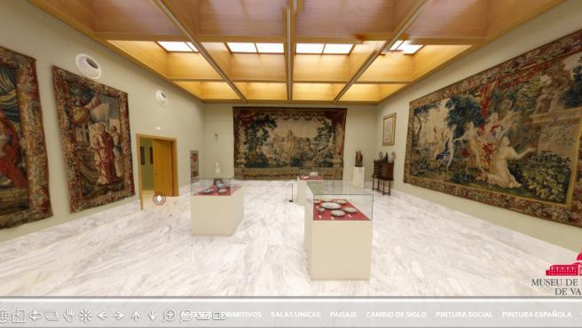 Visita virtual al Museo de Bellas Artes de València.