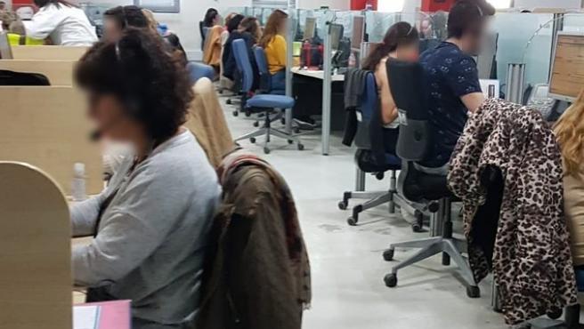 Trabajadores de Konecta