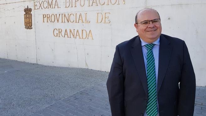 El alcalde de Güéjar Sierra, José Robles, en imagen de archivo