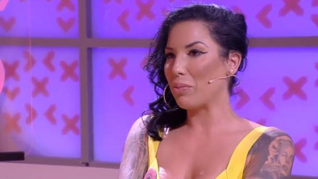 Eugenia Benavides en el programa 'Me quedo contigo'.
