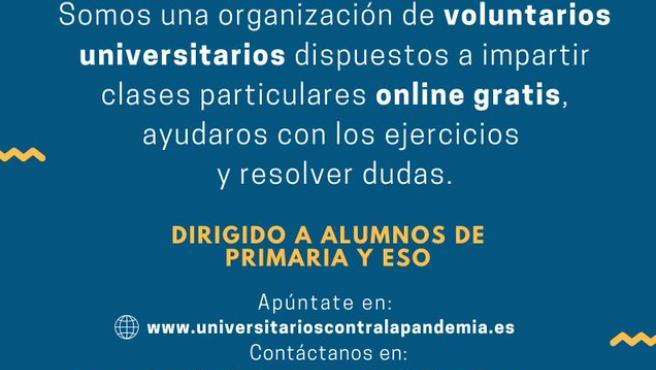 Iniciativa Universitarios contra la pandemia.