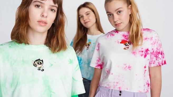 Camisetas con estampado de Las Supernenas