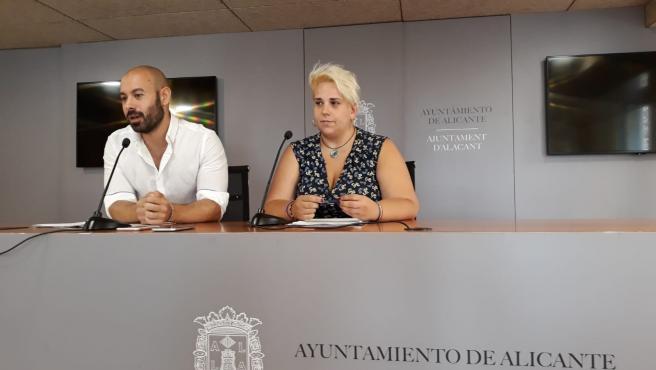 Xavi López y Vanessa Romero, en una imagen de archivo.