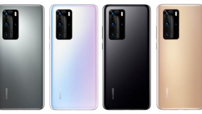La serie de Huawei P40 innova con una línea nueva: el Huawei P40 Pro+.