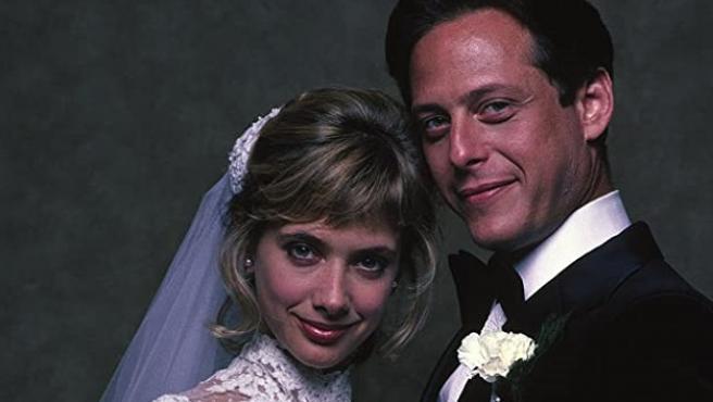 Mark Blum, con Rosanna Arquette en 'Buscando a Susan desesperadamente'.