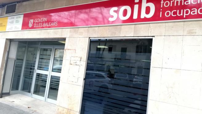 Oficina del SOIB en la calle Miquel Marqués de Palma.